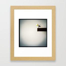 Curious Neil Framed Art Print