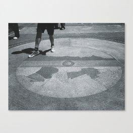 Boston Marathon Canvas Print