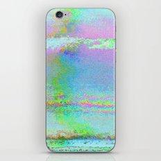 08-24-89 (Digital Drawing Glitch) iPhone & iPod Skin