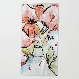 Spring Blossoms Beach Towel