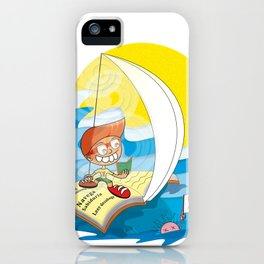 Reading saves lives iPhone Case