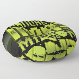 A Million To One Floor Pillow