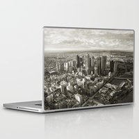 melbourne Laptop & iPad Skins featuring Melbourne City by Ewan Arnolda
