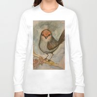 luigi Long Sleeve T-shirts featuring Luigi bird by Sam Wallis Illustration
