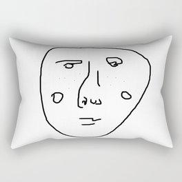 The freckled man Rectangular Pillow