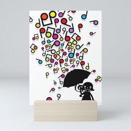 Singin' in the Rain Mini Art Print