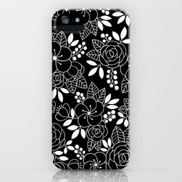 Rosalia Black iPhone Case