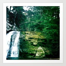 waterfall1 Art Print