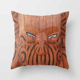 Tiki Tiki Throw Pillow