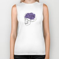 calavera Biker Tanks featuring Calavera by GoodGame