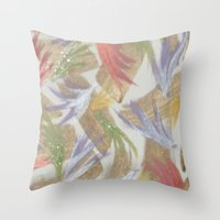 easter Throw Pillows featuring Easter by Kat Dermane