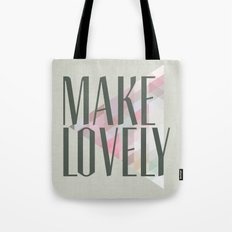 Make Lovely // Stone Tote Bag