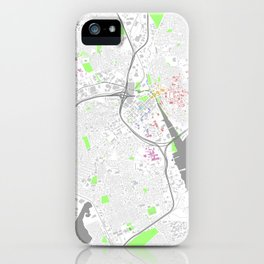 Providence Map Poster iPhone Case