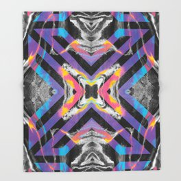 Sweetness Geometric Pattern 0002 Throw Blanket