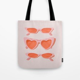 rose tinted Tote Bag