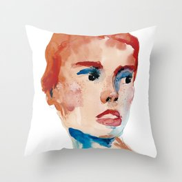 Stains 28 Throw Pillow