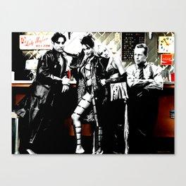 Sin City Starring ( Frank Miller, Robert Rodriguez & Quentin Tarantino - 2005) Canvas Print