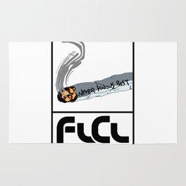 FLCL Never Knows Best Cigarette Rug