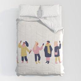 Social Media People Comforters