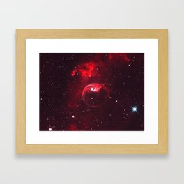 Fear Of A Red Planet Framed Art Print