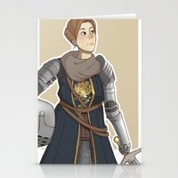 dark souls Stationery Cards featuring Dark Souls- Daphne by mio-mio