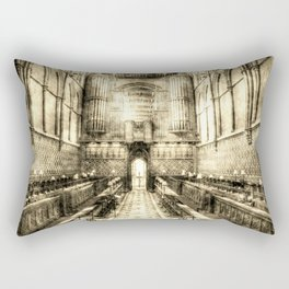 Rochester Cathedral Vintage Rectangular Pillow
