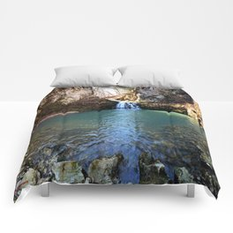 Alone in Secret Hollow with the Caves, Cascades, and Critters, No. 21 of 21 Comforters