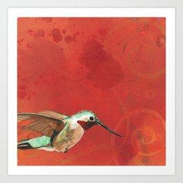 Hummingbird's Tale 21 Art Print