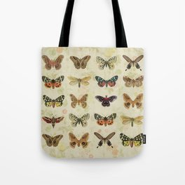 Moths & Butterflies Tote Bag