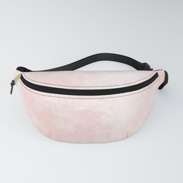 Pink Coral Marble Fanny Pack