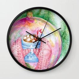 Warm reflection Wall Clock