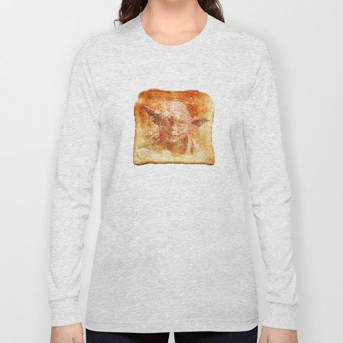 yoda toast Long Sleeve T-shirt