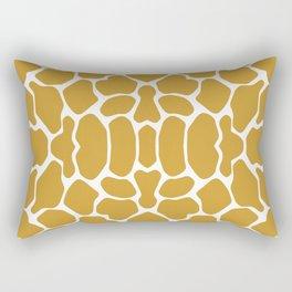 Sudan Brown Safari Giraffe Rectangular Pillow
