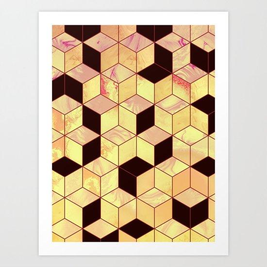 Geometrical Force #1 Art Print