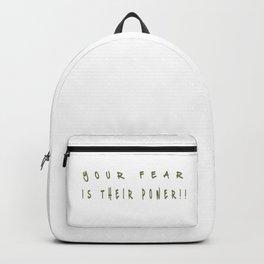 Banksy Black Lives Matter Backpack