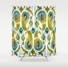 Balinese Pattern 09 Shower Curtain