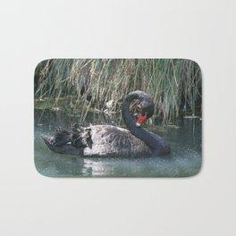 The Black Swan Bath Mat
