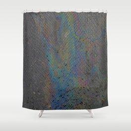 Snake oil skin by ilya konyukhov (c) Shower Curtain