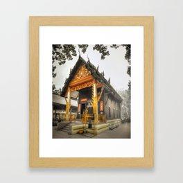 Fertility Temple - Thailand Framed Art Print