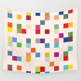 Abstract Retro Video Game Wall Tapestry