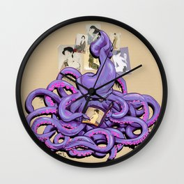 S UKIYO-E Wall Clock
