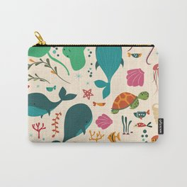 Sea creatures 003 Carry-All Pouch