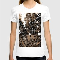 cityscape T-shirts featuring Cityscape by David Miley
