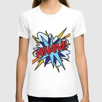 comic book T-shirts featuring Comic Book WHAM! by Thisisnotme