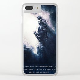 Snake of Metal Gear Solid Clear iPhone Case