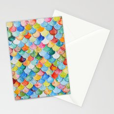Fish Scales  Stationery Cards