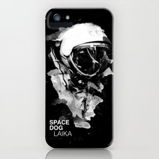 Space Dog iPhone (5, 5s) Slim Case