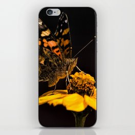 Zinnia Sipping iPhone Skin