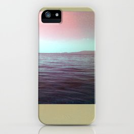 The sea of my hometown iPhone Case