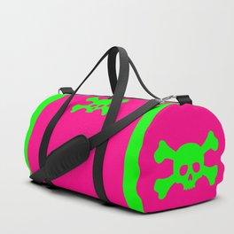Toxic Skull Duffle Bag